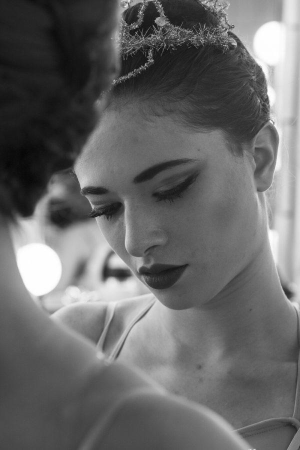 Portrett av ballerina